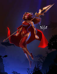 Scarlet Witch by Arkenstellar
