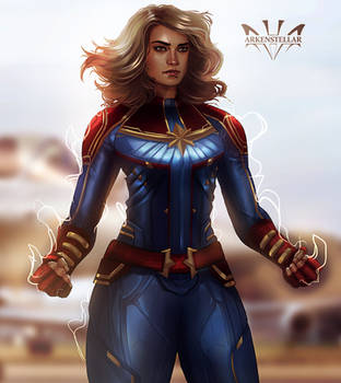 Captain Marvel by Arkenstellar