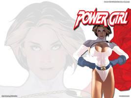 Power Girl No.2 - Adam Hughes by batwolverine