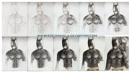 Batman WIP_Paso a paso by vegetanivel2