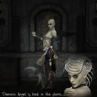 Demonic Angel by ChristineG
