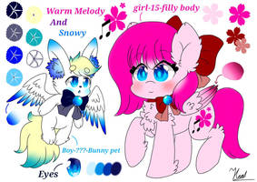 Main OC-Warm Melody by Warm-Melody