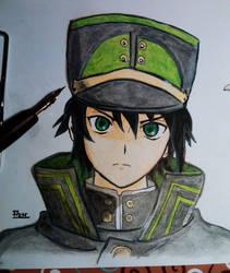 Owari no seraph Yu by animedrawren
