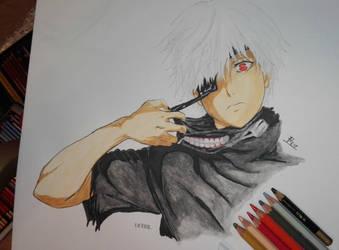 Kaneki Ken by animedrawren