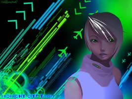 Midnight City Tron by DuhQueenMoki