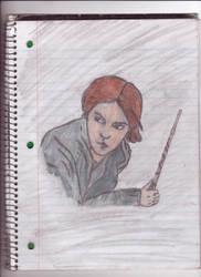Hermione Granger by jasmineweasley