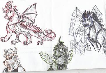 Ink Demons by Moonlightfan