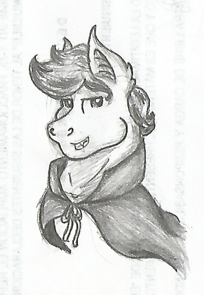 Vampire [Doodle] by Moonlightfan