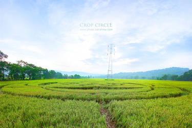 Berbah Crop Circle by cendhikaphoto