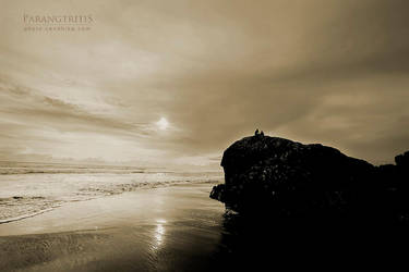 Together at Sunset by cendhikaphoto