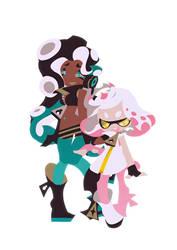 Marina and Pearl by satoutoko