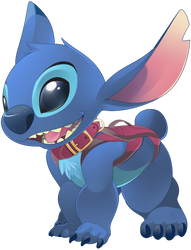 STITCH dog by phation