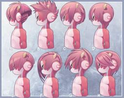 RUz hair A-H by phation