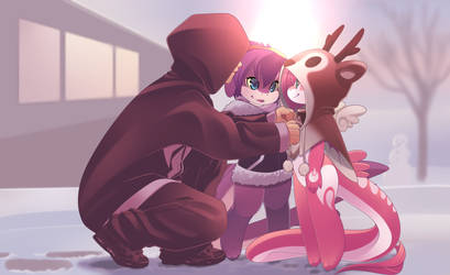 RU and Mako'z christmas by phation