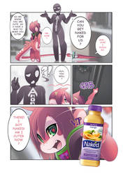 RU gets NAKED (one page comic) by phation