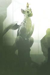 the-last-guardian (FAN ART) by phation