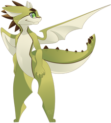 Green dragon by phation