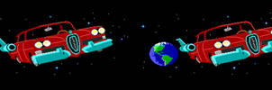 Maniac Mansion - The Space Edsel in Stereo by DiggerEl7