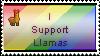 I Support Llamas Stamp by nicopico14