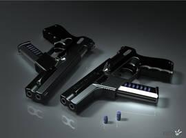 BENoe.P74.P6D Combat Pistol by b-e-noe