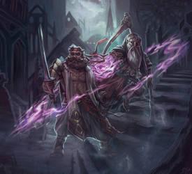 Dwarves by DjeDjehuti
