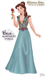 Belle as Maraery Tyrell by DjeDjehuti