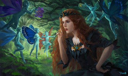 Fairy Queen by geying