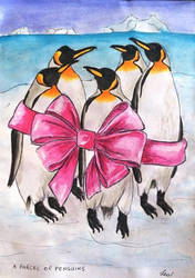 A parcel of penguins by Lew-Rosenberg