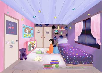 Closet Girl by starrybells