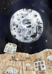 Lune by Rosane-Chawi