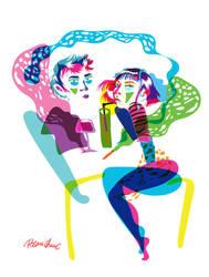 Hateful Couple by Rosane-Chawi