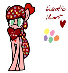 Valentines Sweetie Heart by ArgonByte