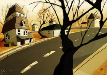 Autumn Syndrome by mellon