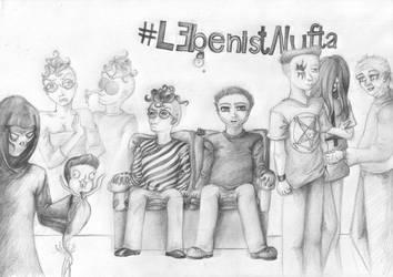 #LebenistNufta - Fan Art by moep424