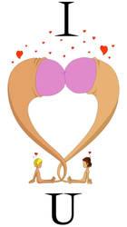 I Heart U by moep424