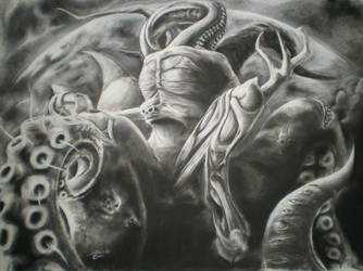 Nyarlathotep by SinglePolygon