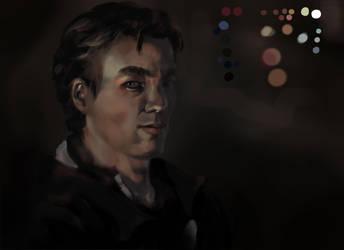 Self portrait by SinglePolygon