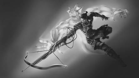 Demonhunter by SinglePolygon