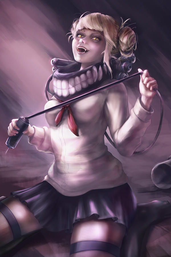 Toga Himiko My Hero Academia by SinglePolygon