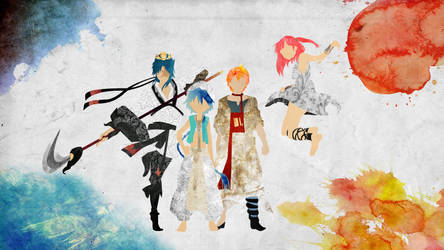 The Protagonists - Magi by doubleu42