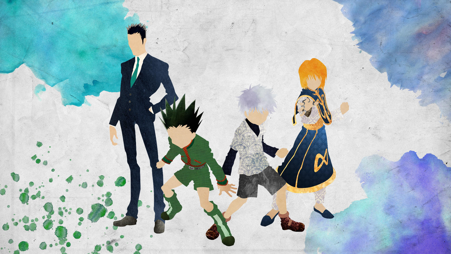 The Protagonists - Hunter x Hunter by doubleu42
