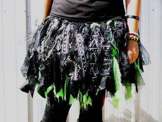 Crazy and her poof skirt by TABBED