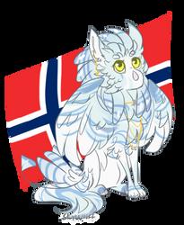 Norwegian girl by SkyWolff