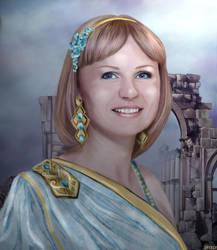 portrait Elena by Varagka