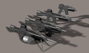 XM8 attachments by Robotlouisstevenson