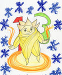 Christmas Countdown 2016:  Sandy by kakashisgirlfighter