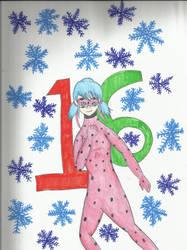 Christmas Countdown 2018:   Miraculous Ladybug by kakashisgirlfighter