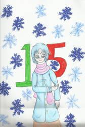 Christmas Countdown 2018:  Ami Mizuno by kakashisgirlfighter