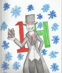 Christmas Countdown 2018:   Black Hat by kakashisgirlfighter