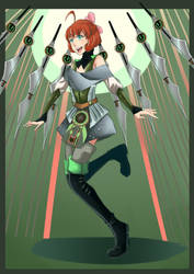 Knight of Dancing Strings: Penny Polendina by ARSONicARTZ